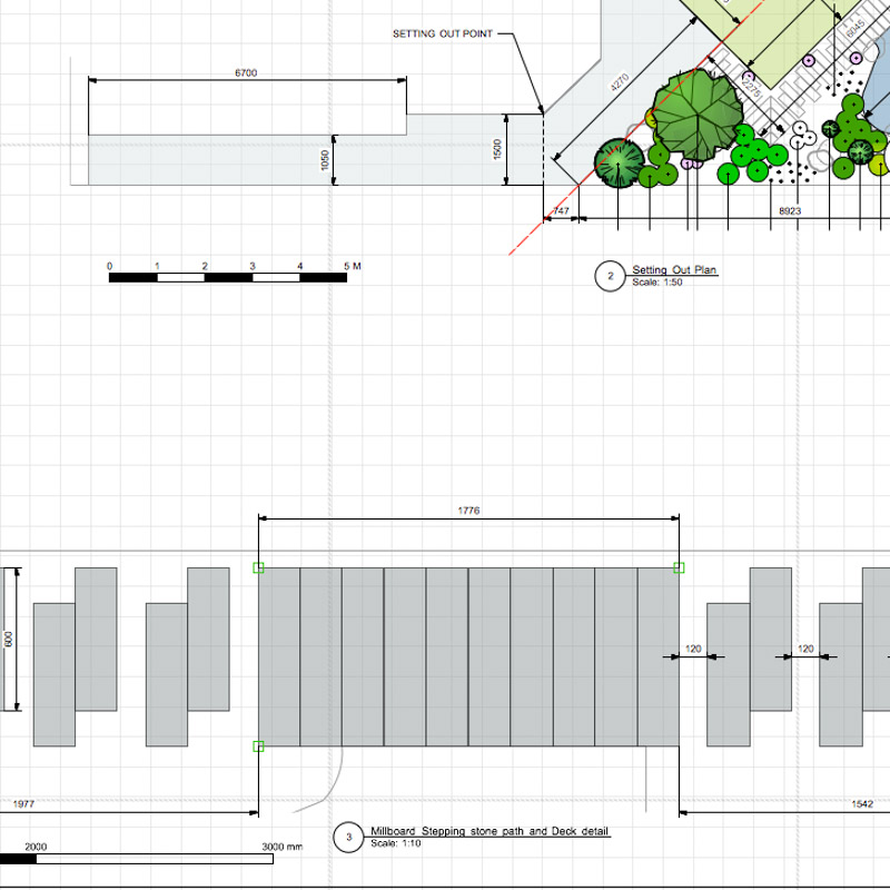 Bob Richmond-Watson Landscape and Garden Design_London Detailed Close up